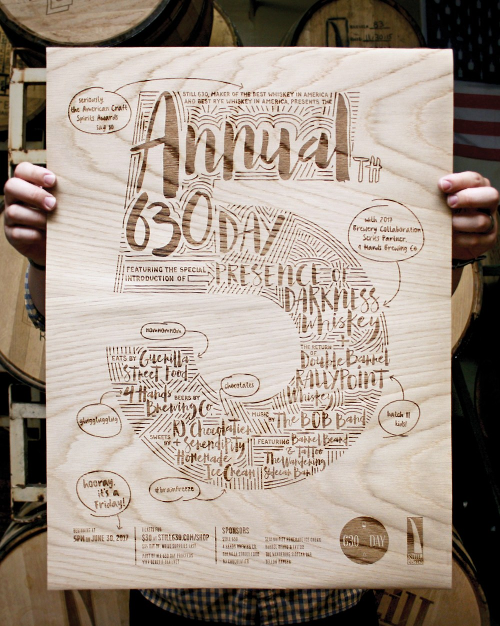 5th Annual 630 Day Poster