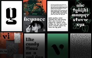 Thumbnail for Student Type Design: Four to Watch