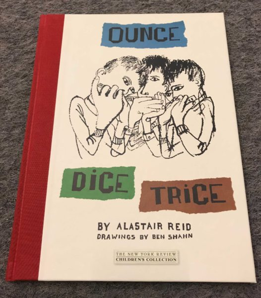 Ounce Dice Trice by Alistair Reid, Drawings by Ben Shan