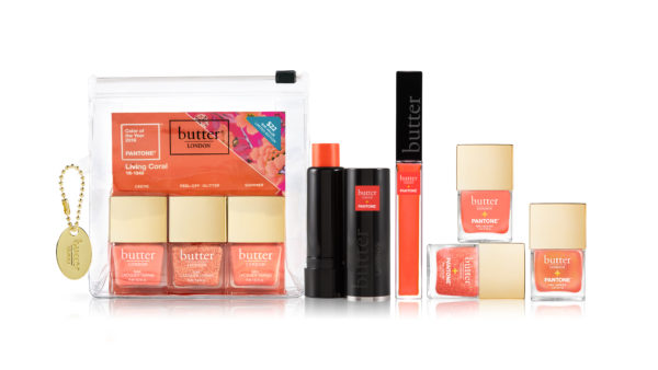Butter LONDON cosmetics in Living Coral