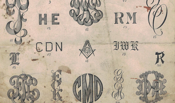 Thumbnail for The Modern Monogram: A Historic Survey of Ciphers, Marks and Monograms