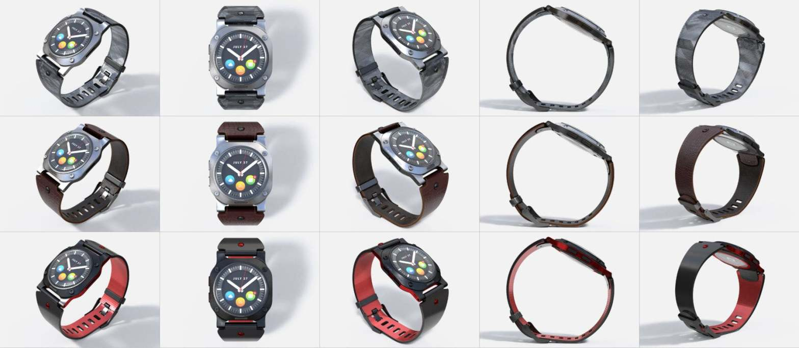 Thumbnail for Smartwatch Design Workflow: Bringing XD & Dimension Together for Product Designs