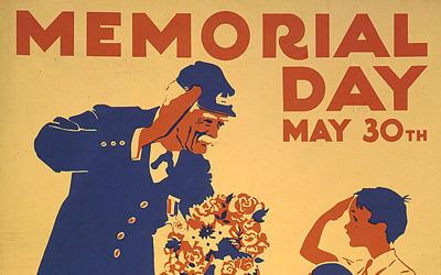 Thumbnail for 12 Pieces of Vintage Memorial Day Ephemera