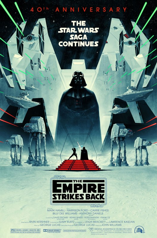 Thumbnail for 15 Star Wars and Sci-Fi Posters by Matt Ferguson