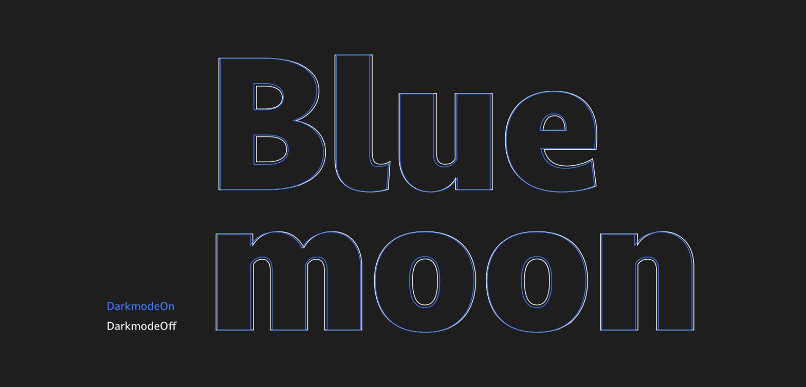 Thumbnail for Dalton Maag's Dark Mode