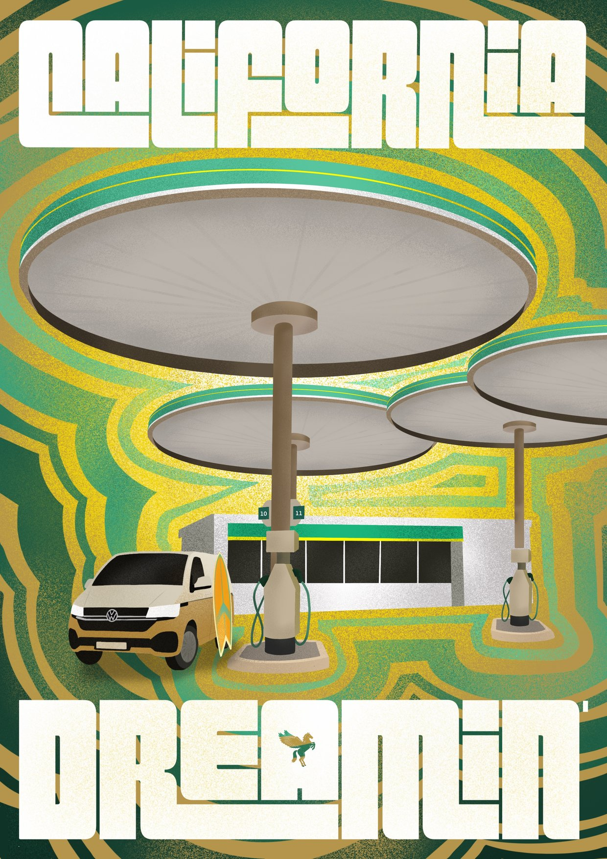 Thumbnail for Tripping Out on Service Station Psychedelia