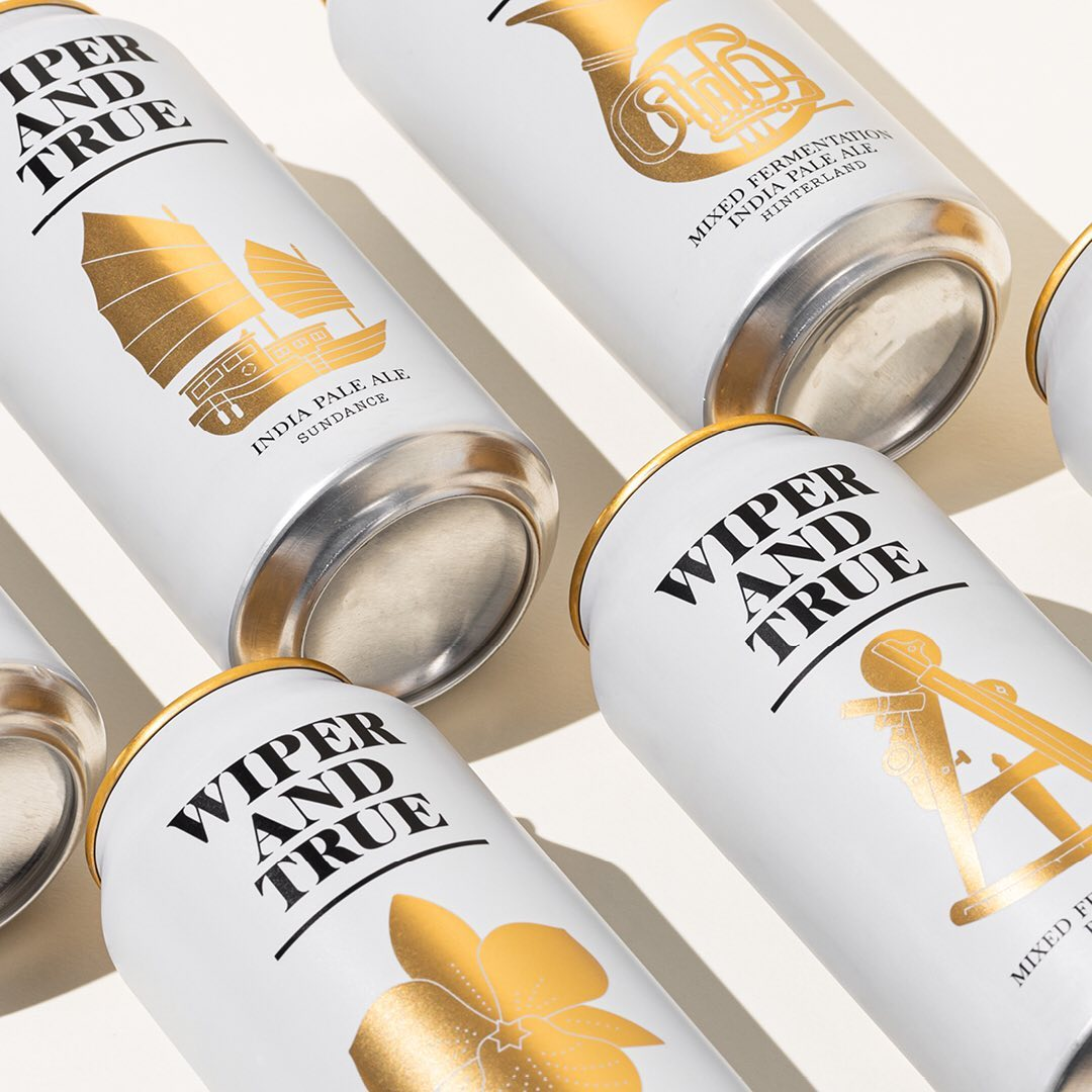 Thumbnail for Your Moment of Design Zen: Wiper and True Beer