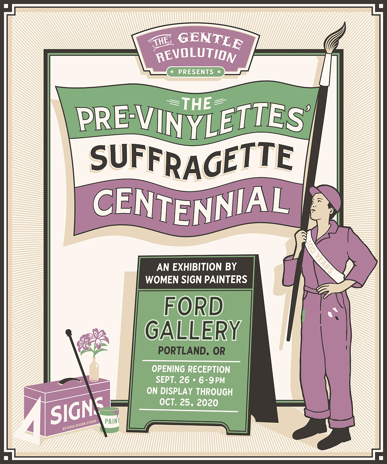 Thumbnail for The Pre-Vinylettes' Suffragette Centennial is On