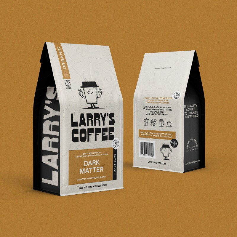 Thumbnail for Larry's Coffee: An Energetic Refresh for an Eco-Friendly Brand