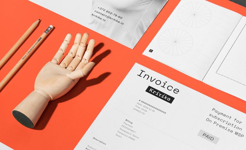 Thumbnail for Stylistic Visual Identity for Web App Kritika Emphasizes Emotion