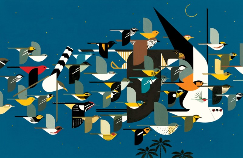 Thumbnail for Fly Away With Charley Harper on National Bird Day