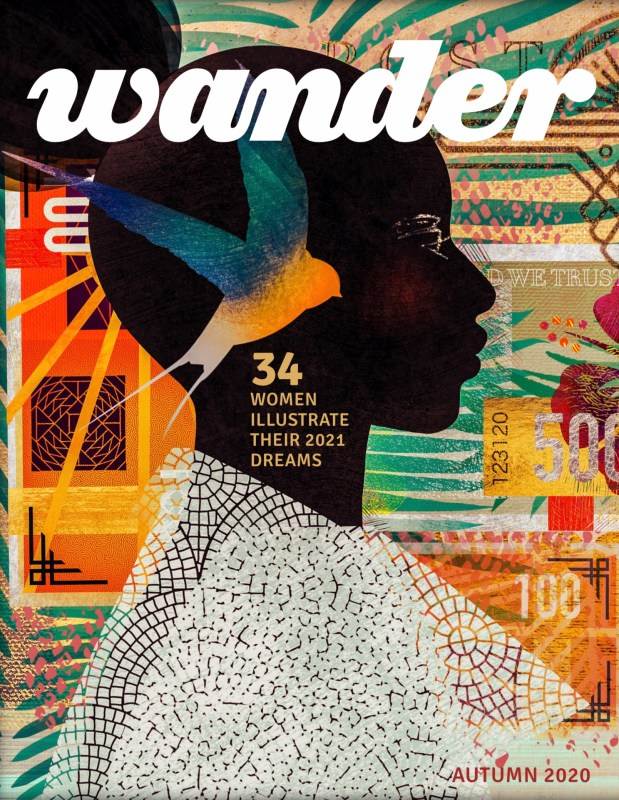 Thumbnail for Wander Magazine: 34 Women From Around the Globe Illustrate Their 2021 Dreams