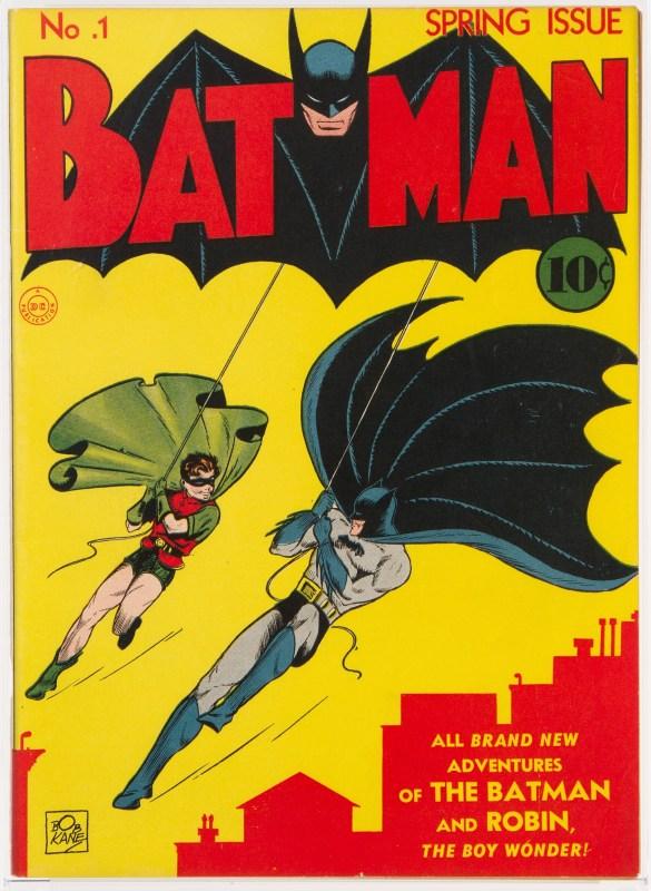 Thumbnail for The Daily Heller: AWKKKKKK! Batman No. 1 Sells for $2.2 Million