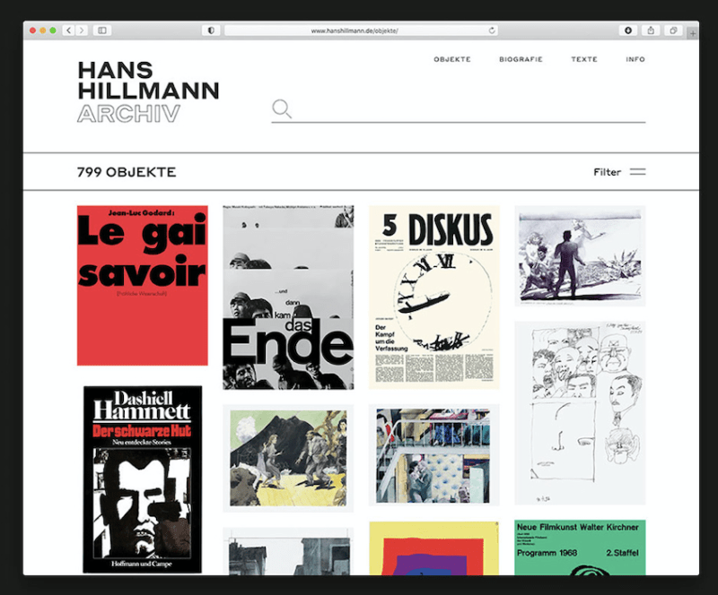 Thumbnail for The Daily Heller: Hans Hillmann Made Posters That Hold Up When They Are Hung Up