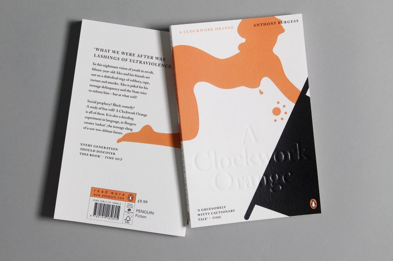 Thumbnail for Judging A Book By Its Cover, We'd Read This Copy of 'A Clockwork Orange'