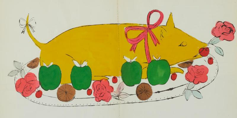 Thumbnail for A Copy of Warhol's 'Wild Raspberries' Goes on Auction Later This Month