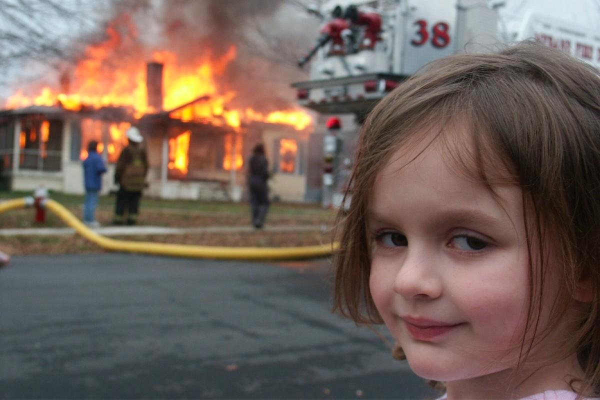 Thumbnail for Disaster Girl NFT Sells For Nearly Half a Million Bucks