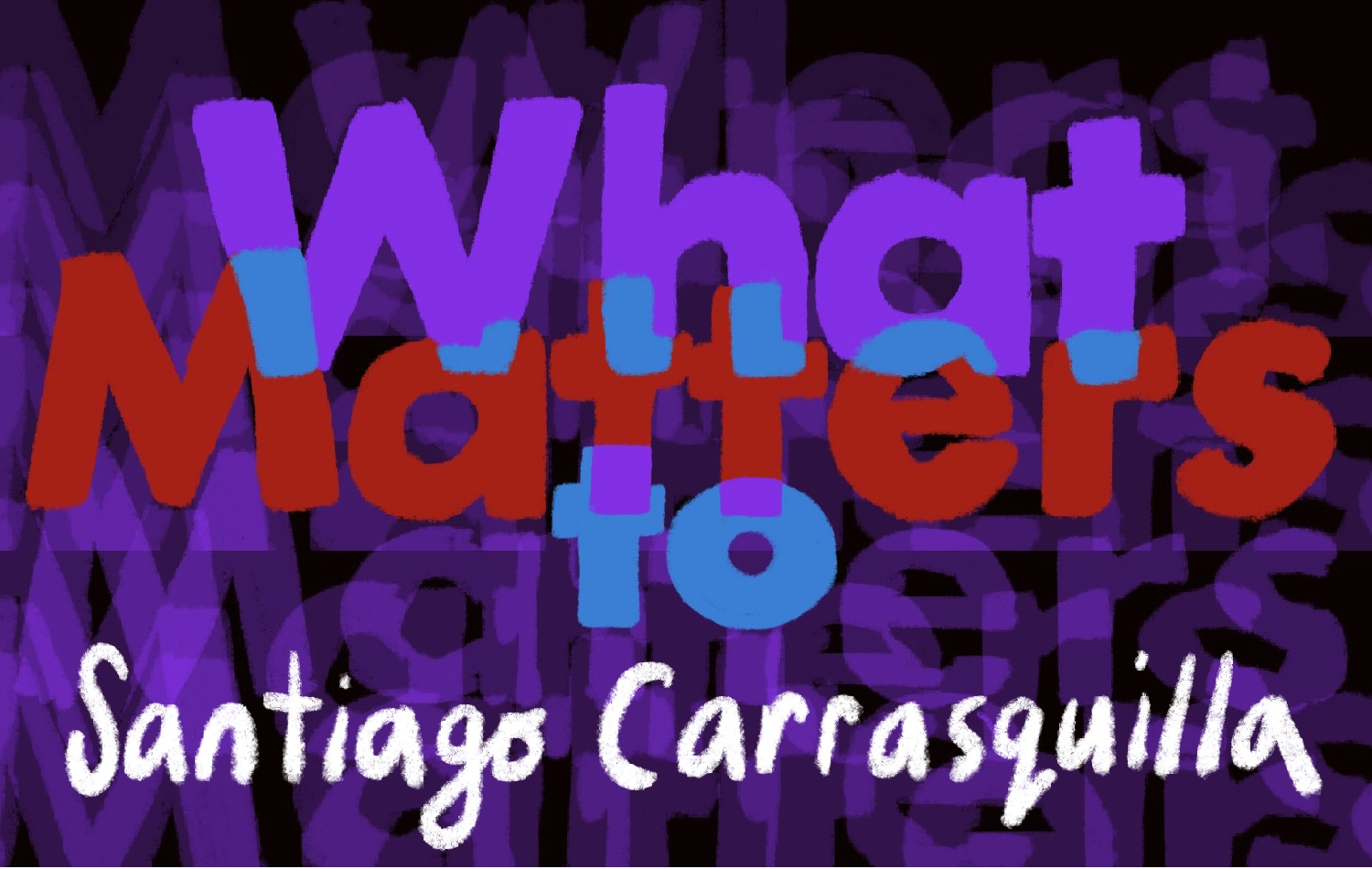 Thumbnail for Santiago Carrasquilla on the Prize of Process and the Catharsis in Crying