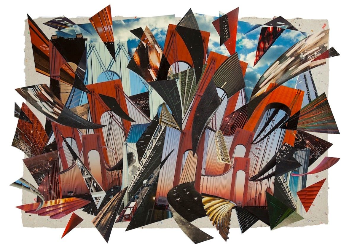 Thumbnail for The Daily Heller: Bascove Unbuilds Bridges (and Other Things) With Collage