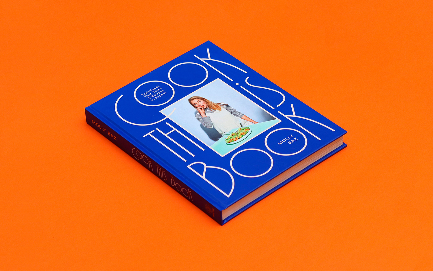 Thumbnail for Molly Baz's 'Cook this Book' Design Is Heating Up The Cook Book Industry
