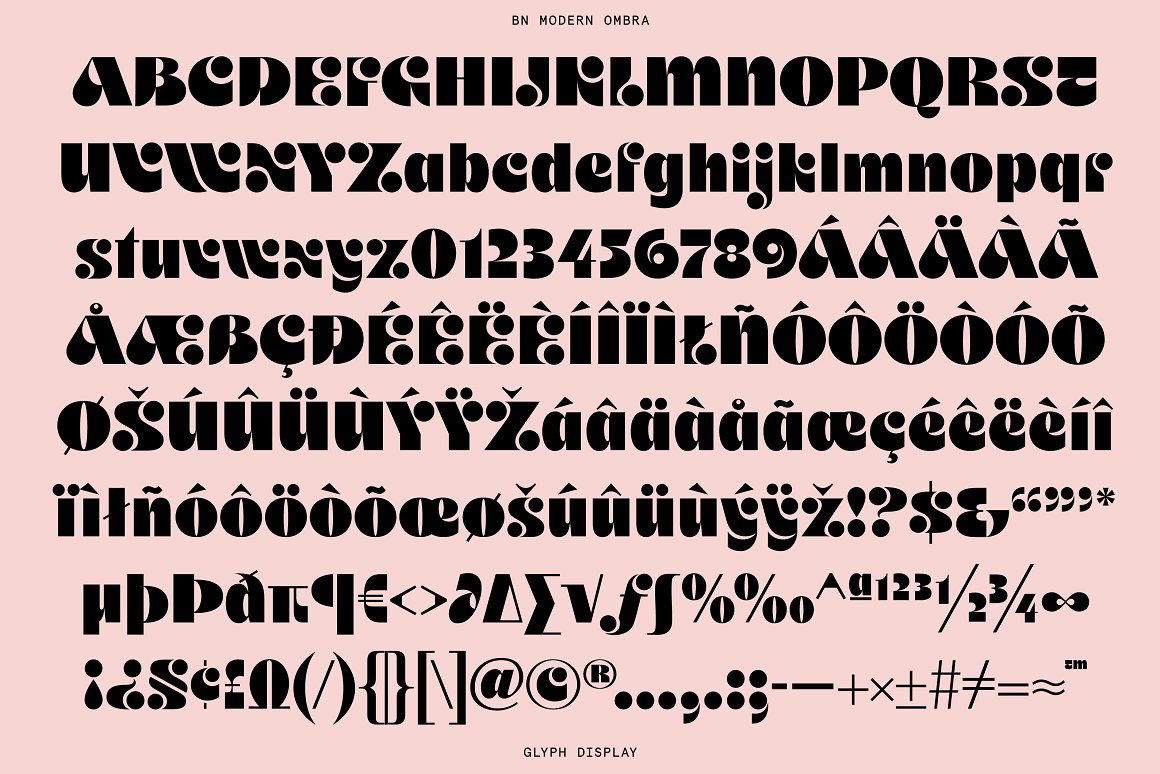 Thumbnail for Ombra Is A Font That's Bound To Inspire Artistic Ambitions