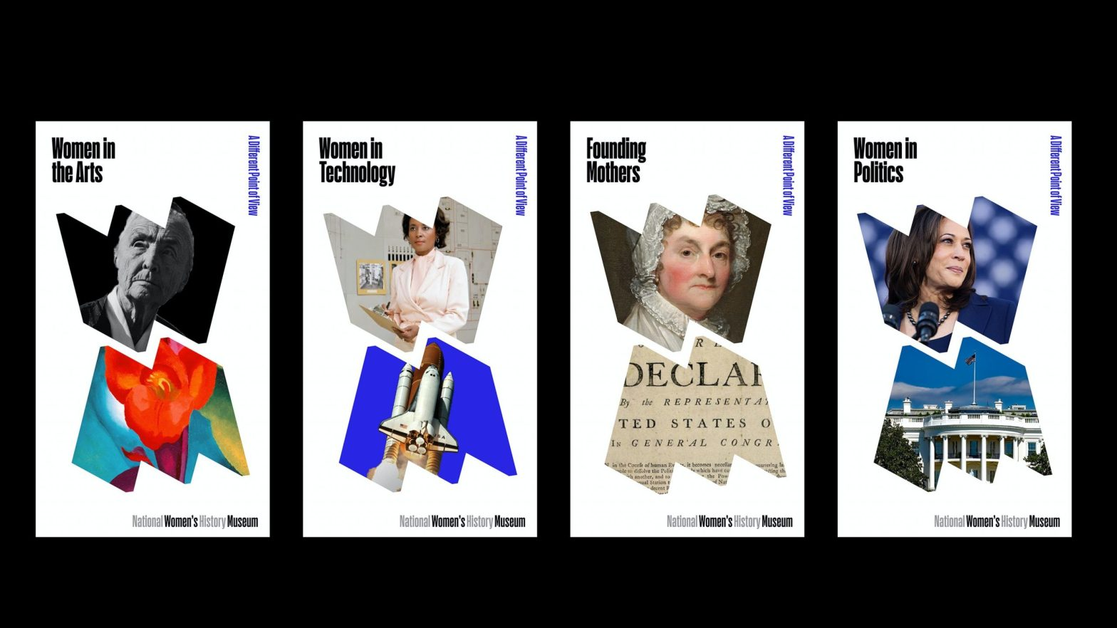 Thumbnail for Paula Scher and Pentagram Create A New Identity For The National Women's History Museum