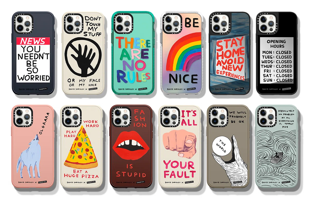 Thumbnail for Casetify and David Shrigley Collaborate For a Whimsical Phone Case Collection