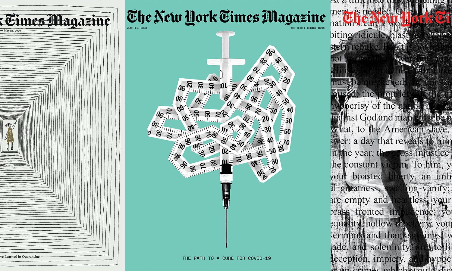 Thumbnail for 60 Powerful New York Times Magazine Covers That Tell the Story of 2020 and Beyond