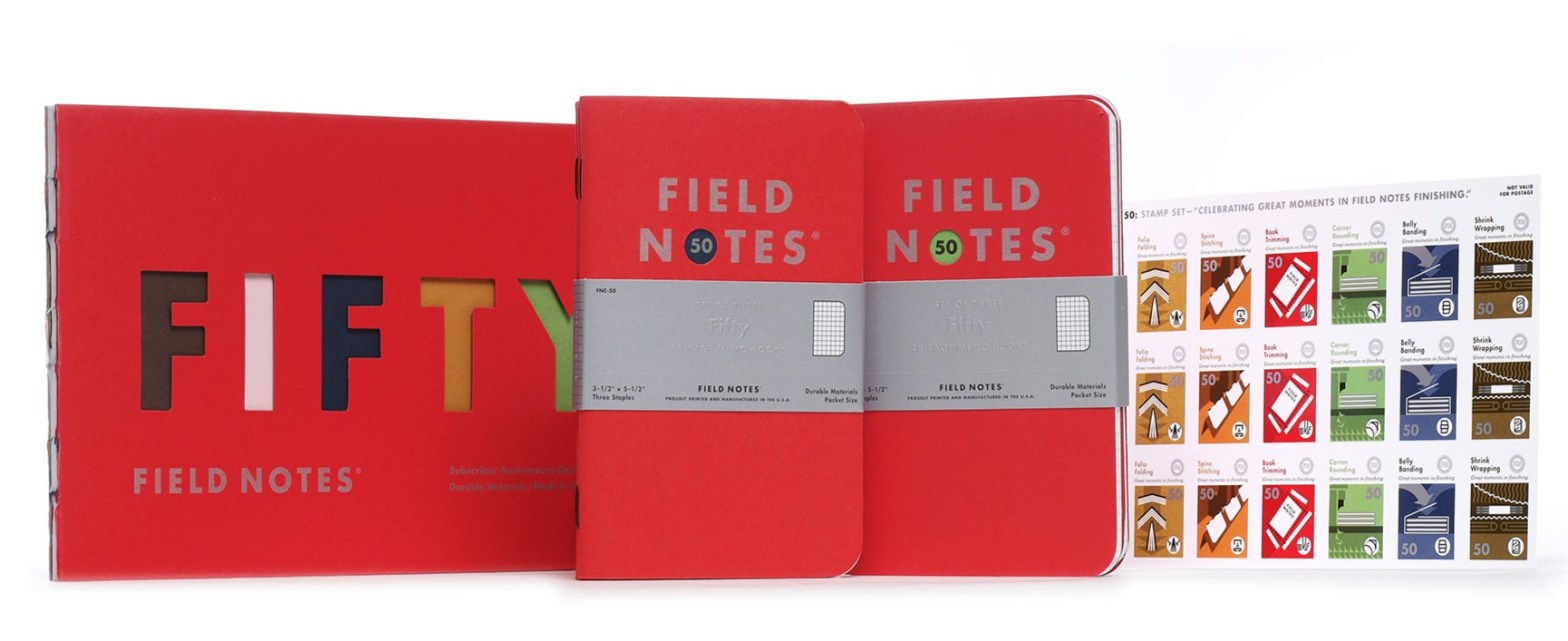 Thumbnail for The Daily Heller: 50, Count 'Em, 50 Unique Field Notes Editions. Happy Field Day!