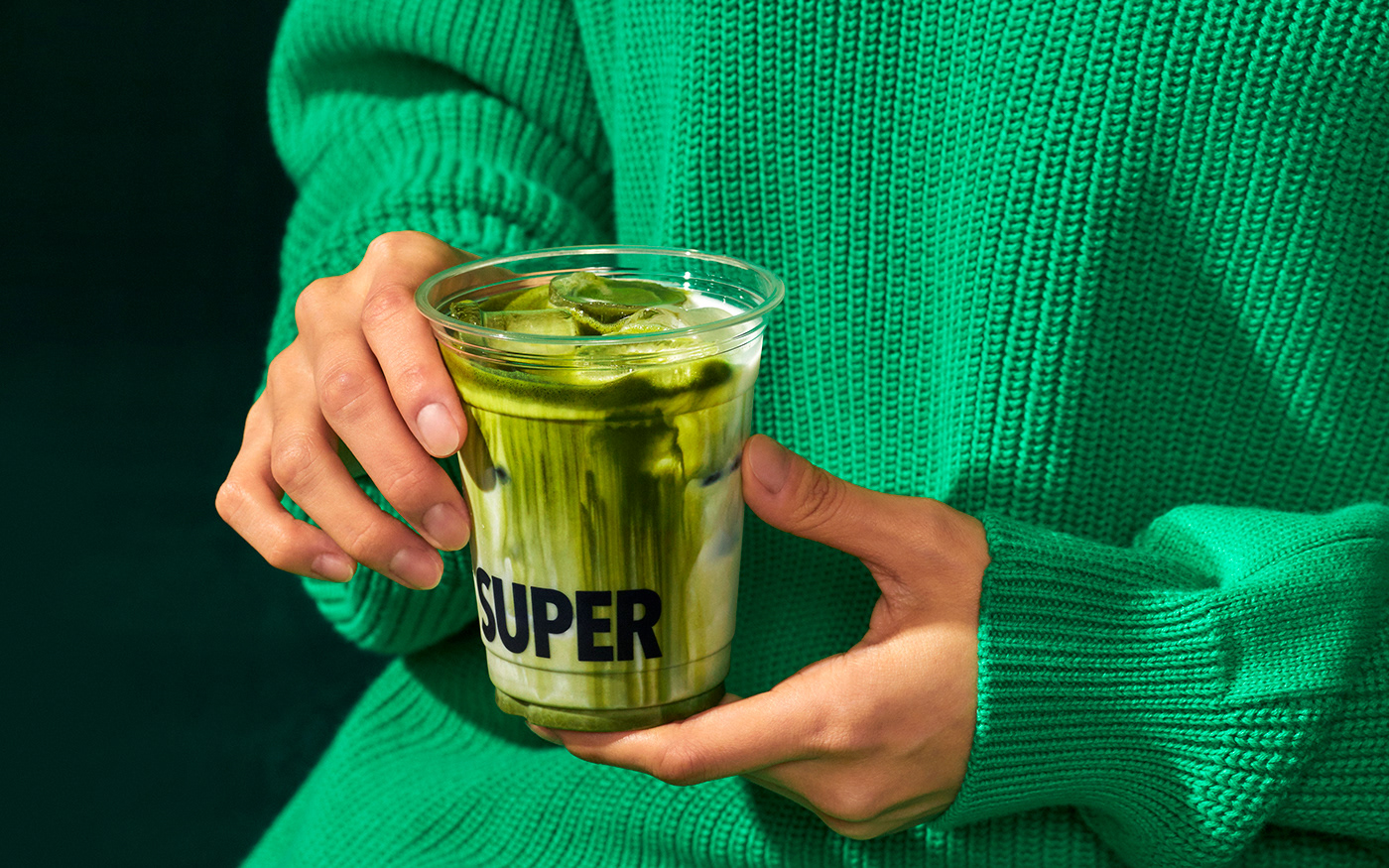 Thumbnail for Super Matcha's Branding Will Have You Craving The Tasty Green Drink In No Time