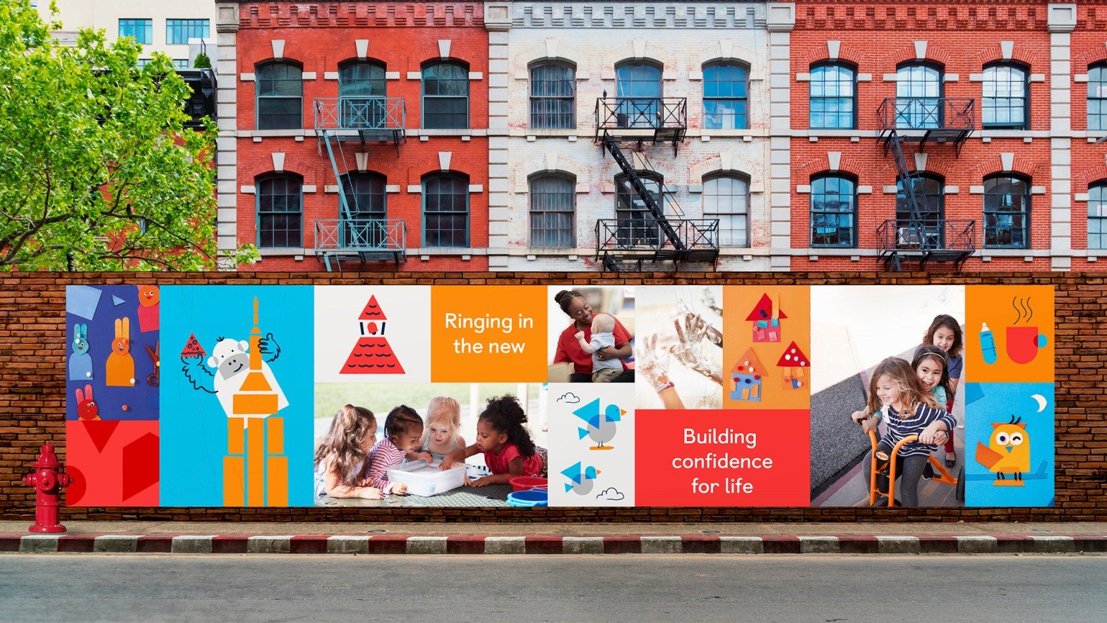 Thumbnail for Design Bridge's KinderCare Brand Identity Builds Confidence For Life
