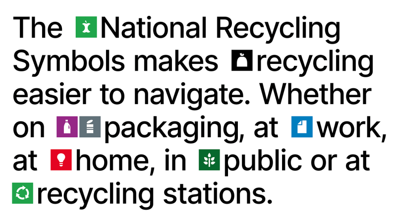 Thumbnail for Norway's New Recycling Symbols From Oslo's Heydays Makes It Easier To Put Your Trash Where It Belong