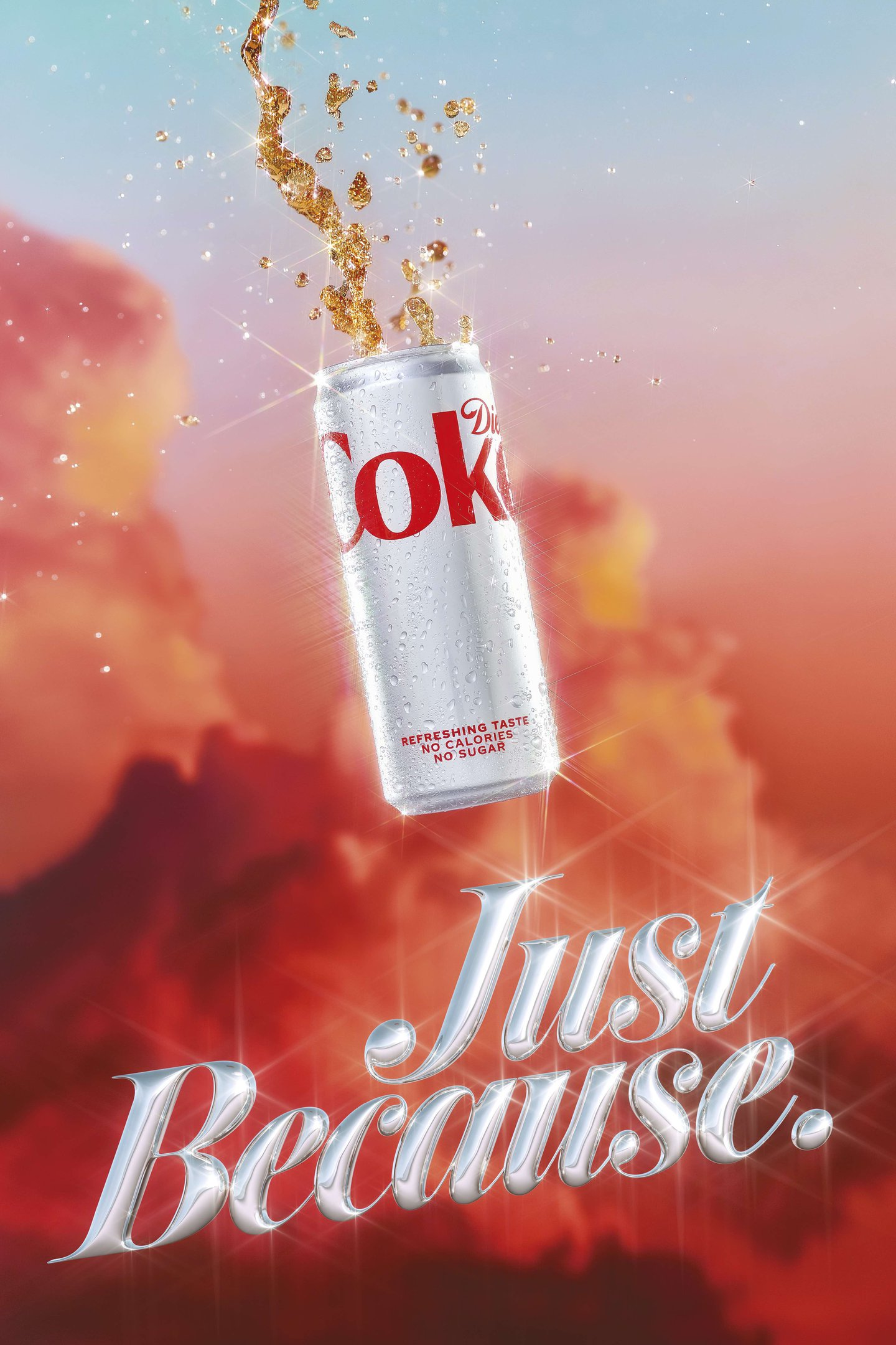 Thumbnail for Diet Coke's Campaign By Droga5 Gets Aesthetic Inspiration From the 80s and 90s