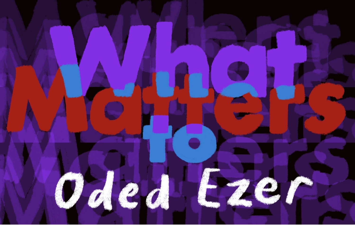 Thumbnail for What Matters: Oded Ezer Implores You, Poetically, to Consider The Power of Shiatsu
