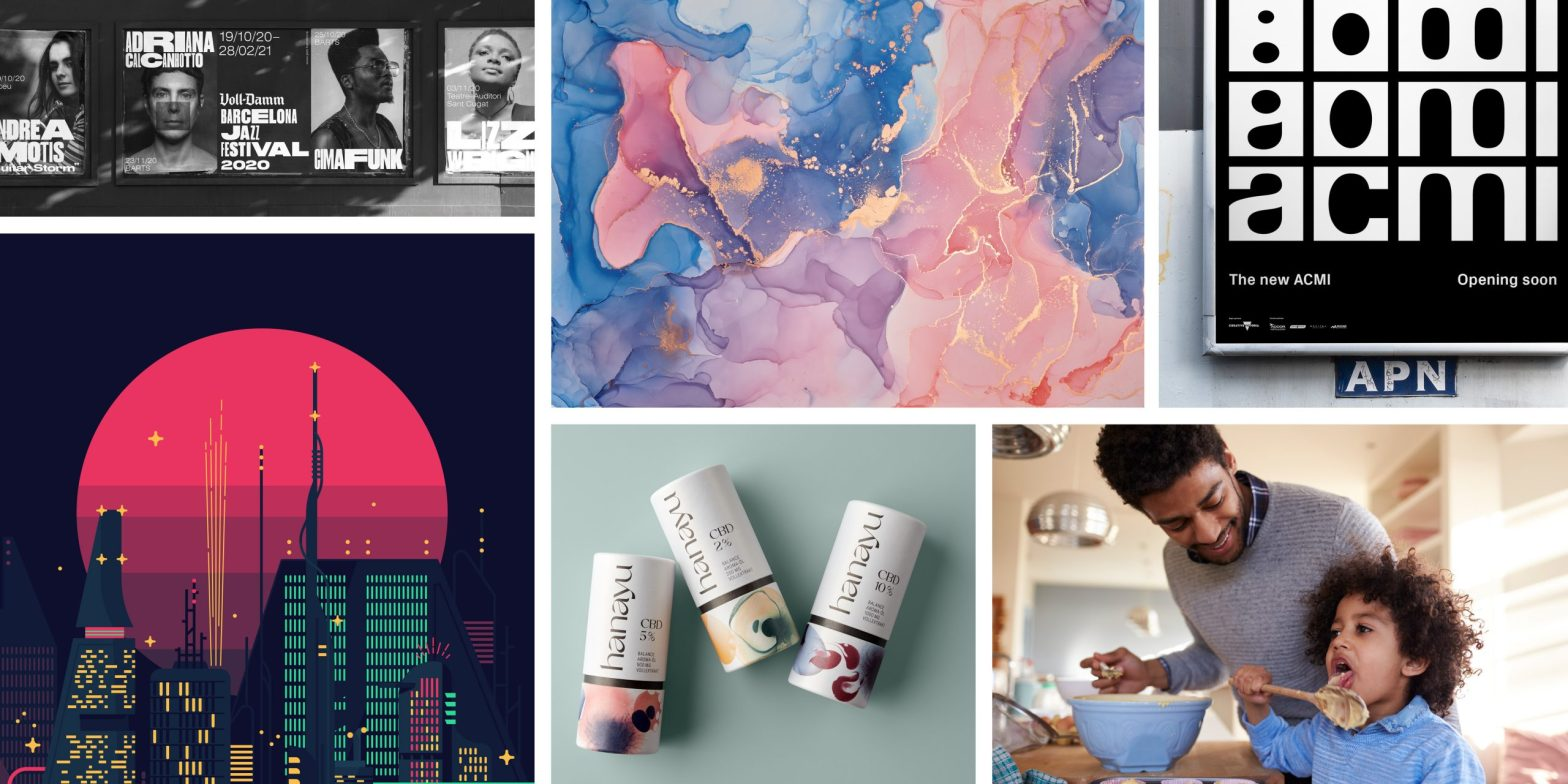 Thumbnail for What Design Trends Do You Need to Watch in 2021? Monotype & Shutterstock Have a Webinar for That