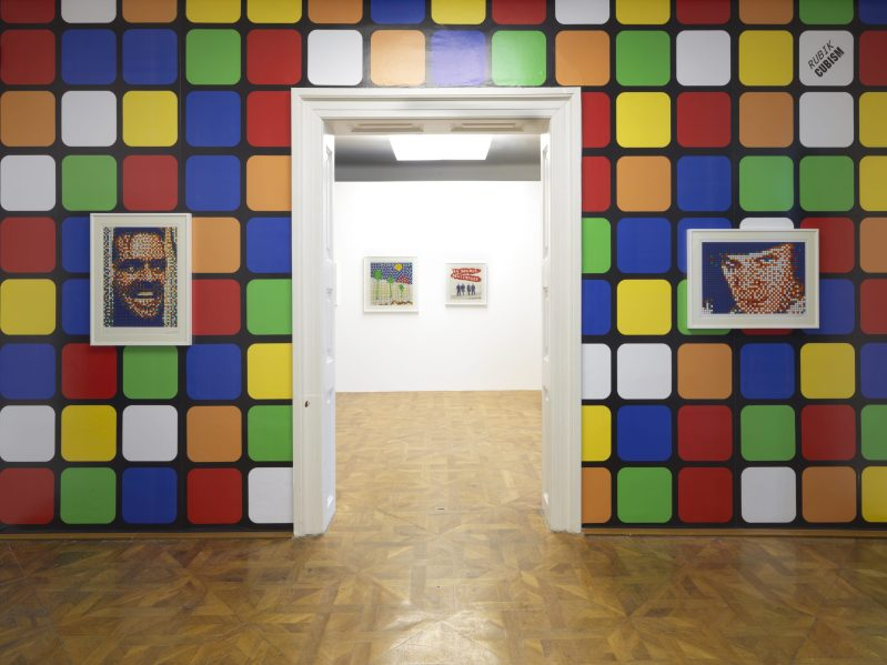 Thumbnail for Invader Takes Over The World Of Exhibitions At The International Centre of Graphic Arts
