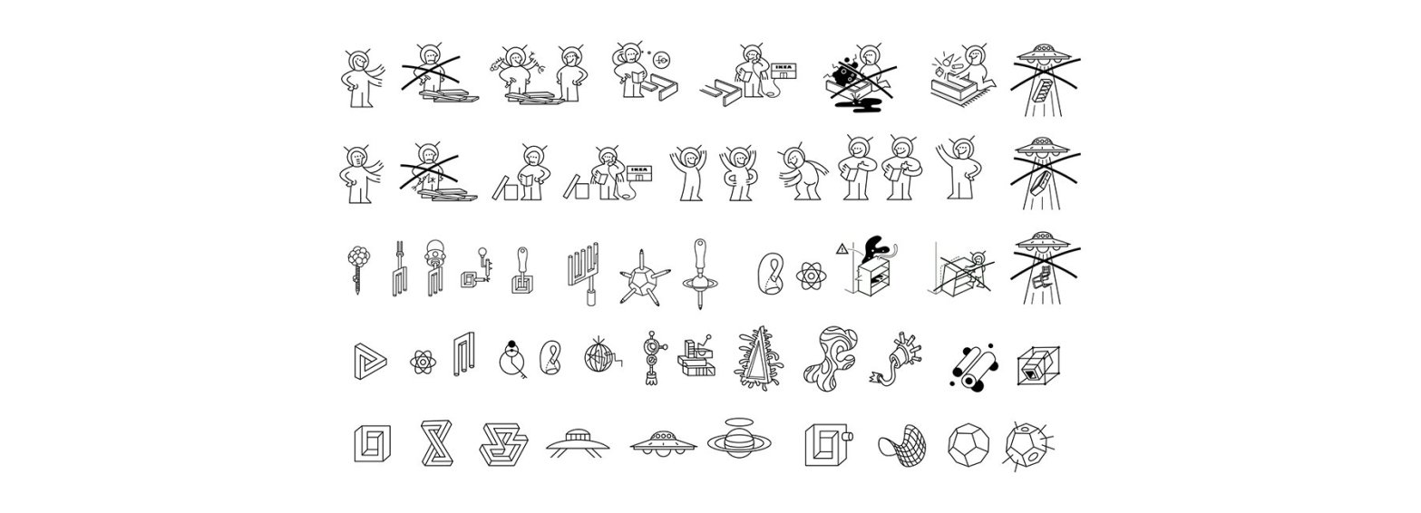 Thumbnail for Ikea Believes In Aliens: Their New Assembly Manuals Are Proof