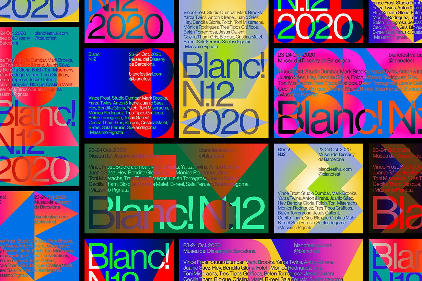 Thumbnail for Blanc! N.12's Branding Speaks To The Festival's Joyful Spirit