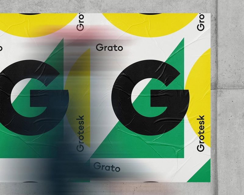 Thumbnail for Grato Classic and Grotesk Are Similar Yet Independent Fonts