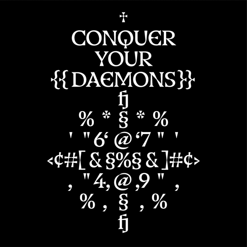 Thumbnail for Type Tuesday: Warhammer III's Typeface Designed By Pentagram's Hudson-Powell Is All In The Details