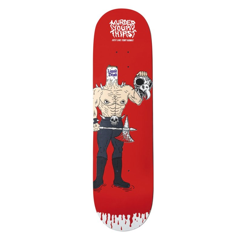 Thumbnail for Tony Hawk Sacrifices His Own Blood For These Limited-Edition Skateboards