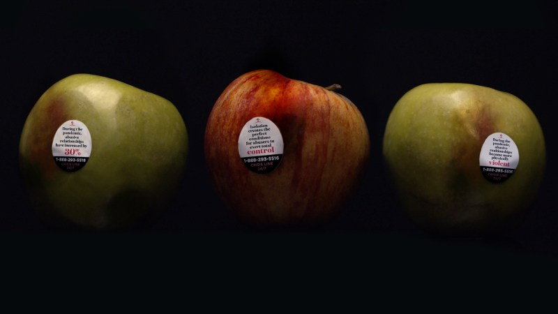 Thumbnail for The Innovative Activation That Uses Bad Apples To Protect Victims of Abuse