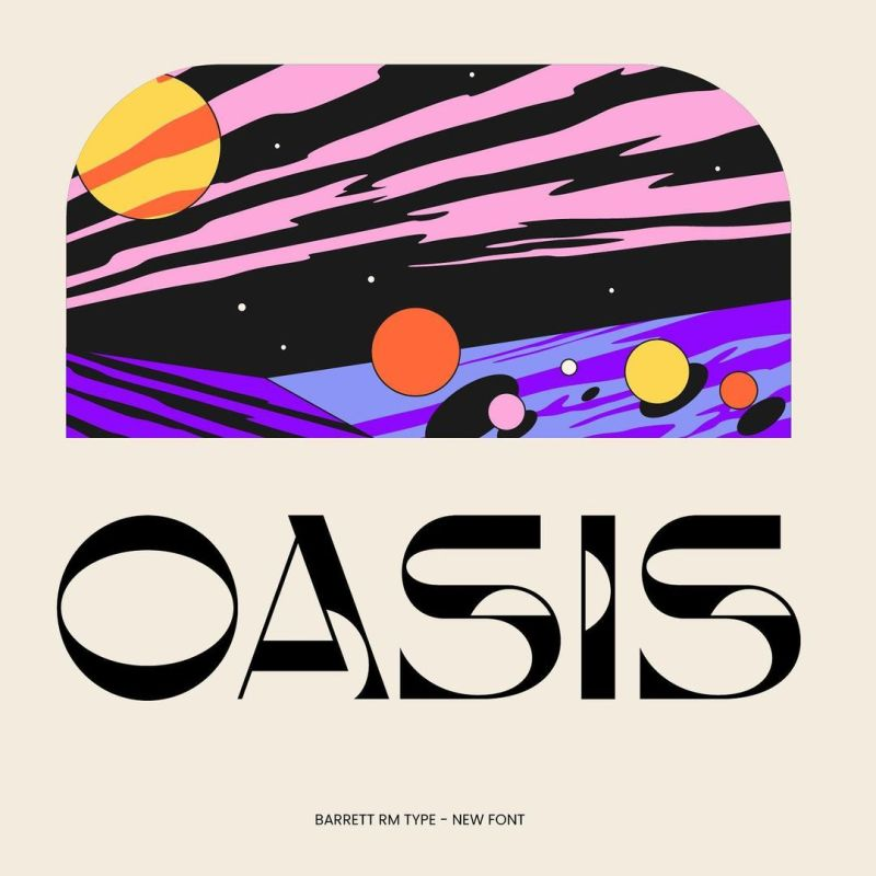 Thumbnail for Type Tuesday: Oasis (Not the Band) is Out of This World