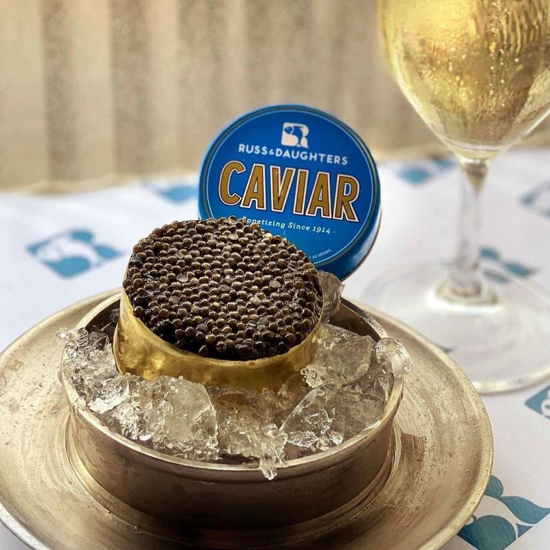 Thumbnail for Russ & Daughter's Caviar Packaging From Kelli Anderson is Guided By History