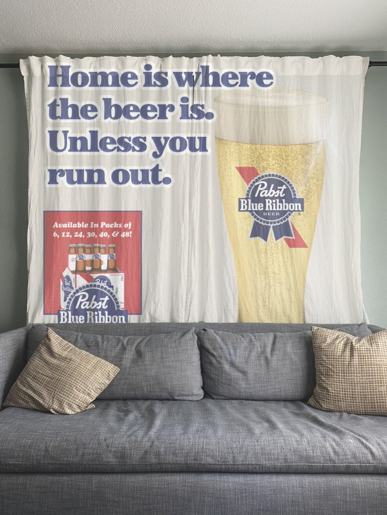 PBR Will Pay You To Put Their Advertisements In Your Home