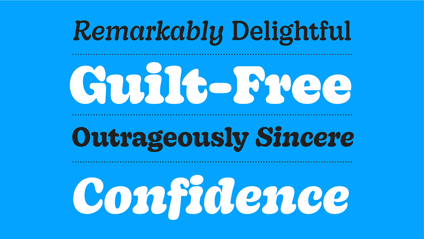 Thumbnail for Decoy is an Exceptionally Charming Typeface Meant For the Big and the Bold