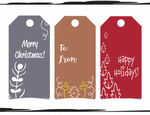 gift tags using illustrator