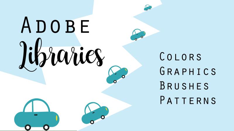 Adobe Libraries, Typekit, Adobe color