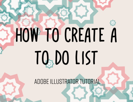To do list in Adobe Illustrator