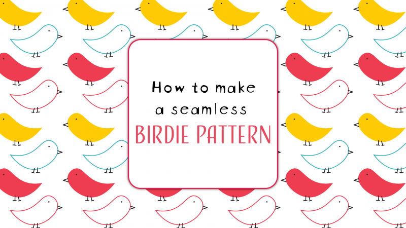 Seamless pattern in Illustrator
